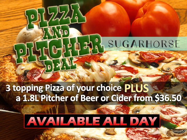 Pizza & Pitcher Deal