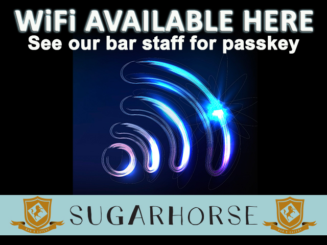 Sugarhorse Wifi Availability